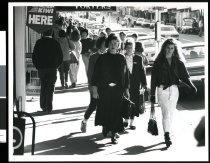 Image of [Pedestrians, Stafford Street, Timaru] -