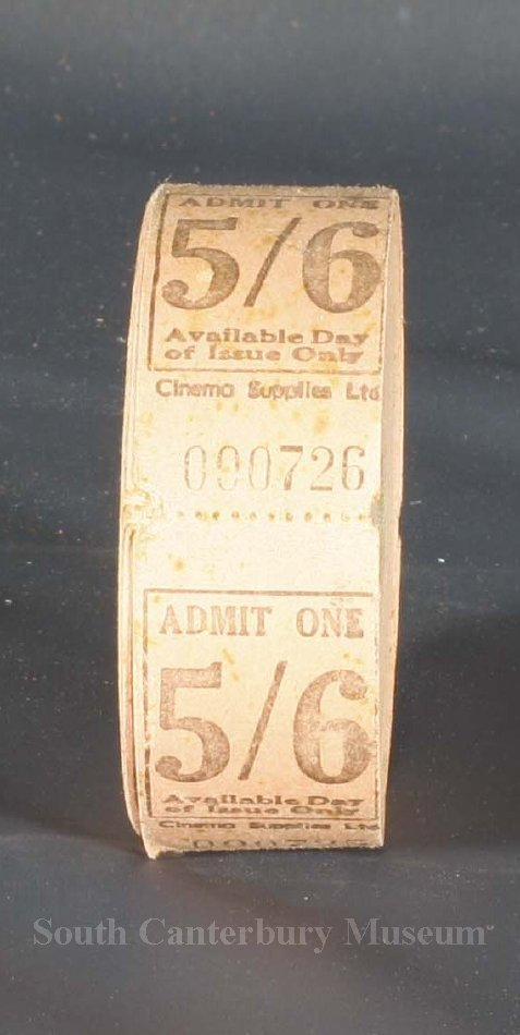 ticket rolls of tickets that were used at the majestic theatre by