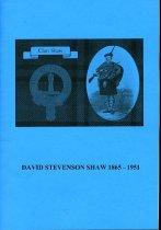 Image of David Stevenson Shaw 1865-1951 - Saxton, Marion