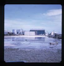 Image of [Cool store construction, Timaru Harbour] -