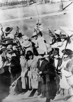 Image of Celebrating Austria's surrender, 1918 -