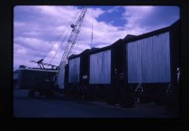 Image of [Timaru Harbour Board crane and hoppers] -