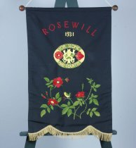 Image of Banner - Banner for the Rosewill, South Canterbury, Country Women's Institute.