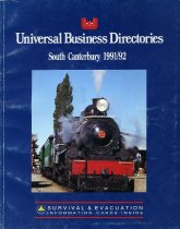 Image of Universal Business Directory : Timaru, 1991/92 -