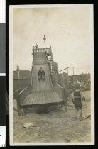Image of [Slide, Caroline Bay, Timaru] -