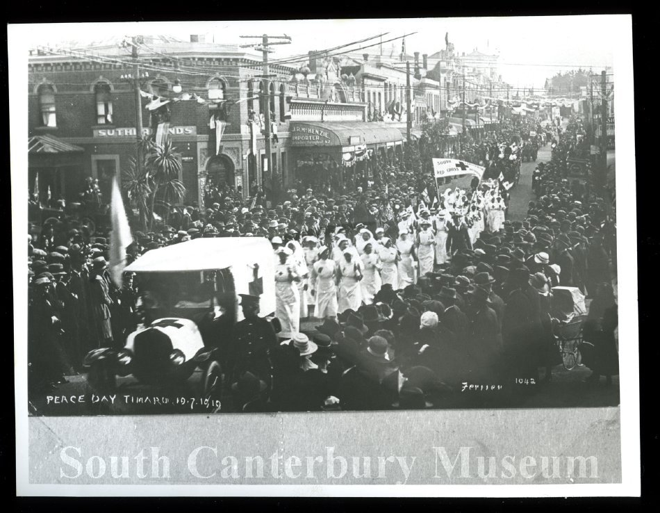 Peace Day Timaru 19/7/1919[Ferrier 1042] - South Canterbury Museum