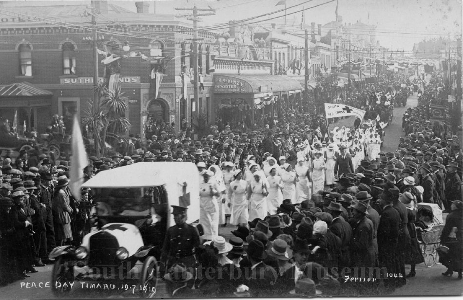 Peace Day, Timaru 19.07.1919 [Ferrier 1042] - South Canterbury Museum