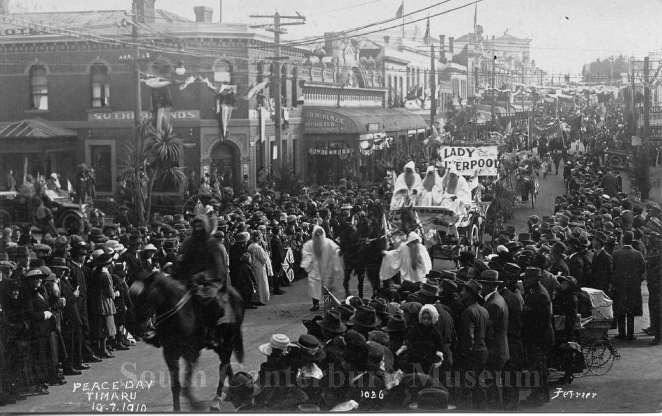 Peace Day Timaru 19.7.1919 [1036 Ferrier] - South Canterbury Museum