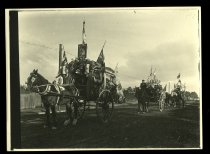 Image of [Floats for King George V's coronation parade] -