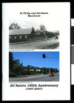 Image of St Philip and all Saints Marchwiel : All Saints 100th anniversary (1907-2007) -