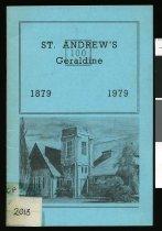 Image of St Andrews Geraldine 1879-1979 -