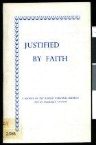 Image of Justified by faith : a history of the Waihao Parochial District and St. Michael's Church - Stace, Jean G