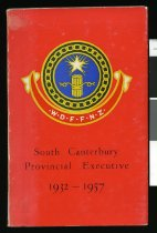 Image of South Canterbury Provincial Executive 1932-1957 : Women's Division Federated Farmers of New Zealand -
