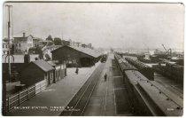 Image of Railway Station, Timaru, N.Z. 7600 -