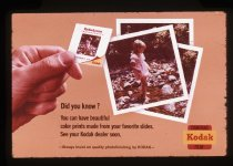 Image of [Kodak Kodachrome advertisement] -