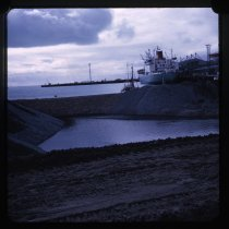 Image of [Reclamation work, Timaru Harbour] -