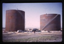 Image of ['New' Caltex and Europa oil tanks, Timaru] -