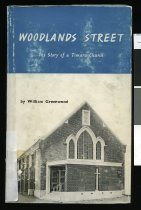 Image of Woodlands Street : the story of a Timaru church  - Greenwood, William