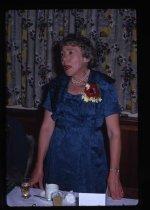 Image of [Unidentified speaker, 25th Anniversary dinner, Twentieth Century Women's Club] -