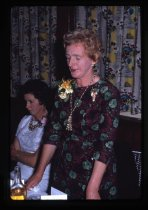 Image of [Unidentified speaker, 25th Anniversary dinner, Twentieth Century Women's Club] -