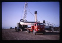 Image of ['Dredge 350' lifeboat removal] -