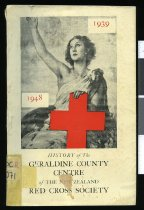 Image of History of the Geraldine County Centre of the New Zealand Red Cross Society (Inc.) 1939-1948 - Mowbray Tripp, J (ed.)