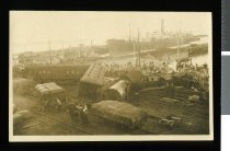 Image of [Derailment of the south bound express, Timaru] -
