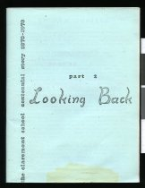 Image of Looking back : the Claremont School centennial story, 1878-1978. Part 2                                                                                                                       - Guthrie, Neville