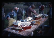 Image of [Model boat dsiplay, Timaru] -