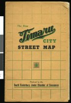 Image of Timaru City street map (closed)