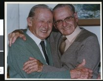 Image of Allan and Jack Abraham - Timaru Herald Photographs, Personalities Collection
