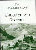 Image of The Raincliff story : the archived records  - Parr, Cate