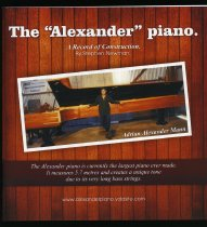 "Image of The ""Alexander"" piano : a record of construction  - Newman, Stephen"