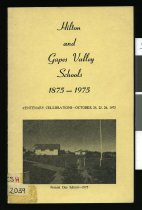 Image of Hilton & Gapes Valley Schools 1875-1975 : centenary celebrations -