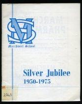 Image of Marchwiel School Silver Jubilee, 1950-1975 -