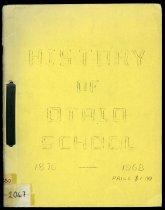 Image of History of Otaio School 1876-1968 - Martin, Bertha