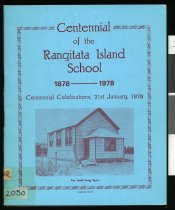 Image of Rangitata Island School centennial -
