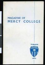 Image of Magazine of Mercy College, 1972 -