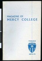 Image of Magazine of Mercy College, 1974-75 -