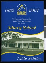 Image of Albury School 125th Jubilee 1882-2007 - Sutherland, Jeremy (ed.)