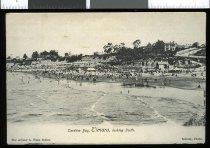 Image of Caroline Bay, Timaru, looking south.  [Arthur A Ware Series 2939] -
