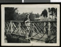 Image of [Unidentified nurse, Timaru Gardens] -