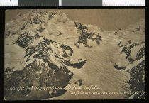 Image of S48/355 Mt Cook (12,349 feet) and Hochstetter Ice Falls [Maoriland postcard] -