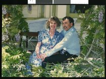 Image of Bruce Albiston M P for Waitaki and his wife Eileen - Timaru Herald Photographs, Personalities Collection