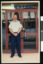 Image of Ken Aldworth, Police Sergeant, Waimate - Timaru Herald Photographs, Personalities Collection