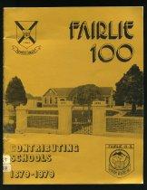 Image of Fairlie 100 contributing schools 1879-1979 - Jones, Marjorie (ed.)