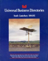 Image of Universal Business Directory: Timaru, 1994/95 -