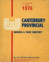 Image of Universal business directory for Canterbury 1976 -