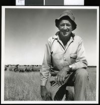 Image of Frank Amos - Timaru Herald Photographs, Personalities Collection