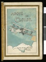 "Image of ""Above the clouds"" (front cover)"